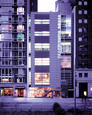 Scandinavia House exterior
