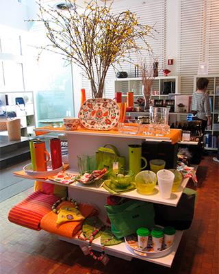 Scandinavia House gift shop display