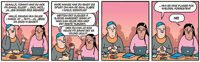 Lille Berlin comic
