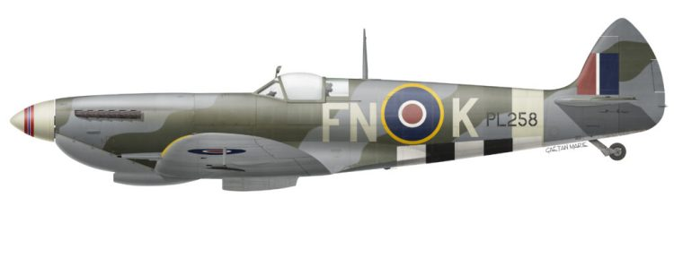 donation restoration spitfire norwegian pl258