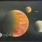 Starship over Jupiter