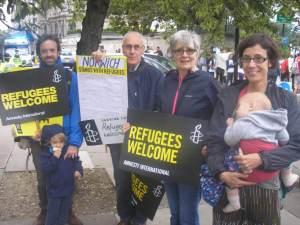 Norwich Amnesty Members