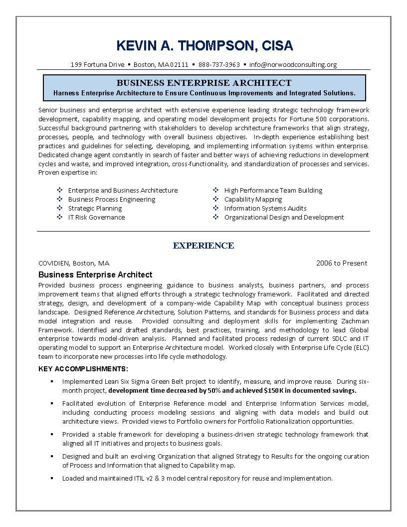 best architect resume it resume engineering sample resume business