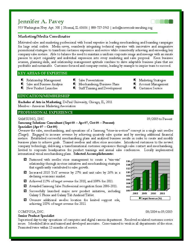 sales marketing sample resume expert certified resume writer