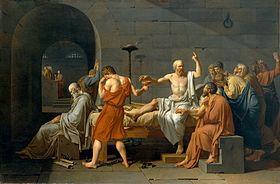 La mort de Socrate - David (1787)