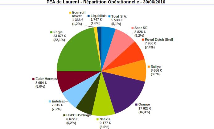 PEA répartition opérationnelle juin 2016