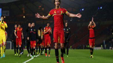 البلجيكي أكسيل فيتسل ربما لا يشارك في بطوله اليورو