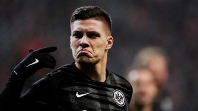 ريال مدريد يعلن إعارة لاعبه لوكا يوفيتش إلى اينتراخت فرانكفورت الألماني