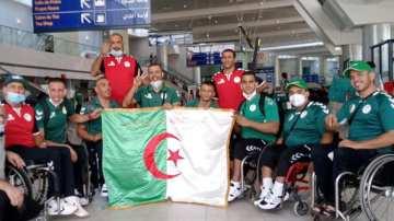 حافلة بعثة الجزائر البارالمبية تثير موجة من الغضب والانتقادات