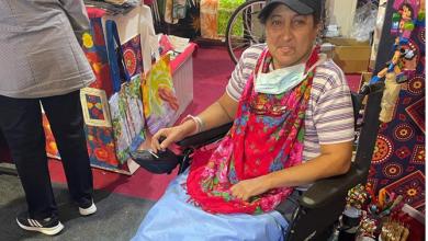 السيسي يوجه بتوفير كرسي متحرك لسيدة من ذوي الاحتياجات الخاصة (صور)