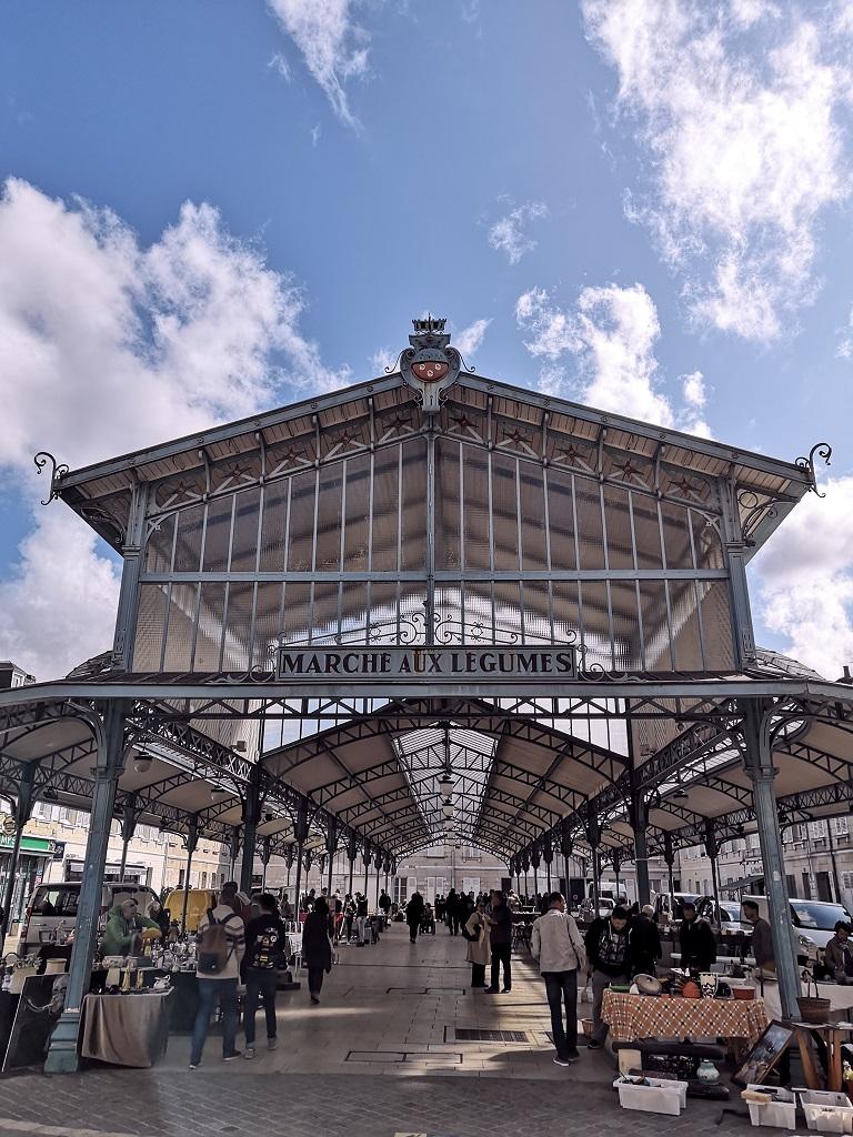 Marché Place Billard Chartres