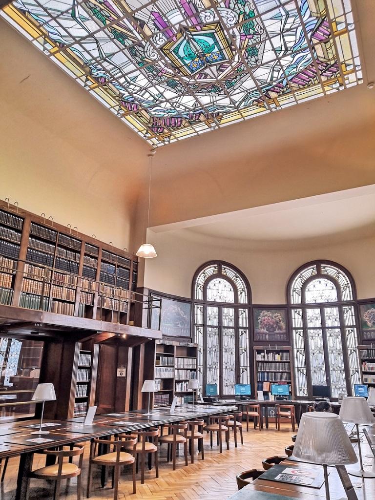 Bibiothèque Carnegie Reims