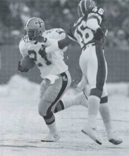 1989 Dalton Hilliard Saints versus Bills