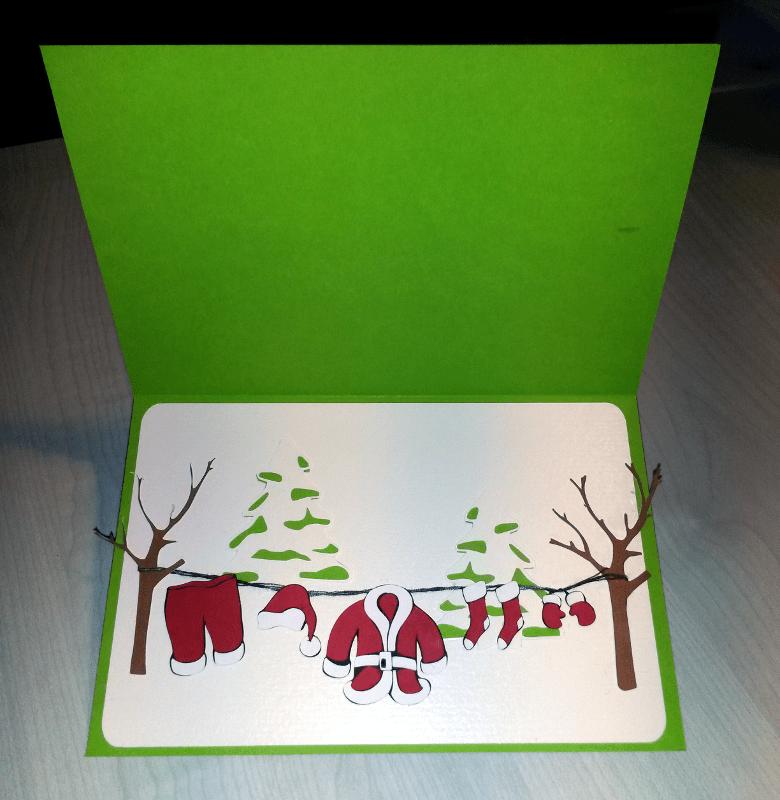 La lessive du Père Noël