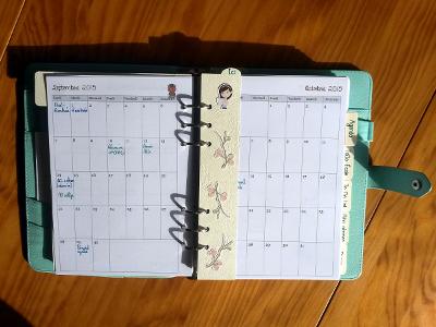Mon planner A5