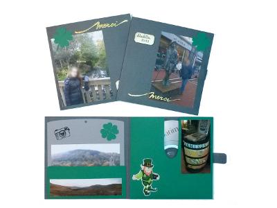 Jaquette CD / DVD Irlandaise