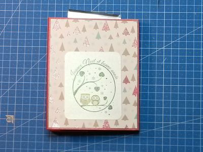 Une carte de Noël et plein de scrapbidules
