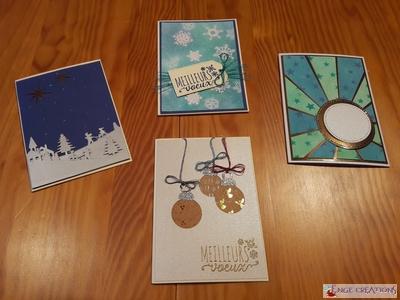 Série de cartes de voeux... en série