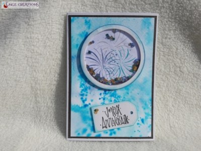 Shaker card - Feu d'artifice - version 1