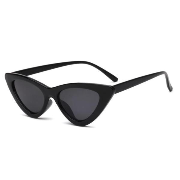 COOYOUNG Cute Sexy Retro Cat Eye Sunglasses Women Small Black White Triangle Vintage Cheap Ladies Sun Glasses Red Female UV400 3