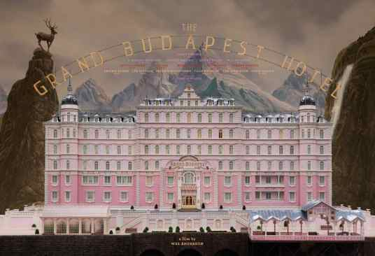 The Grand hotel Budapest-Wes Anderson
