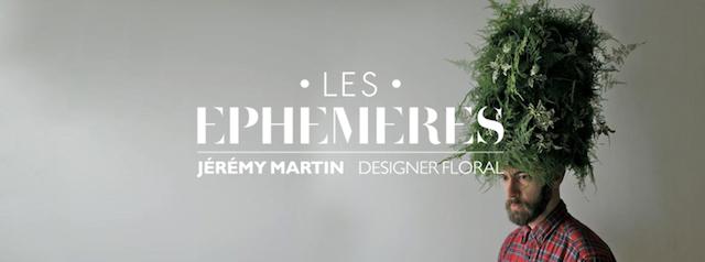 les ephemeres-jérémy martin