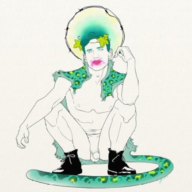 Malenagerie, trazos de color y diversión con Héctor Barros-1