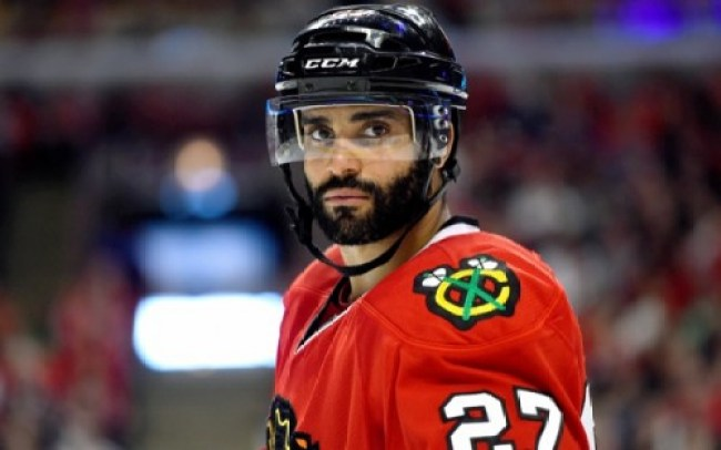 Barbas de la NHL-Johnny Oduya