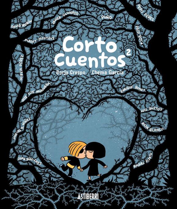 CORTOCUENTOS 2, uno de los comics más recientes que co-firma. Una maravilla, por cierto. ¡Recomiendo!