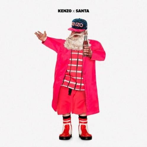 Santa Claus se viste de moda