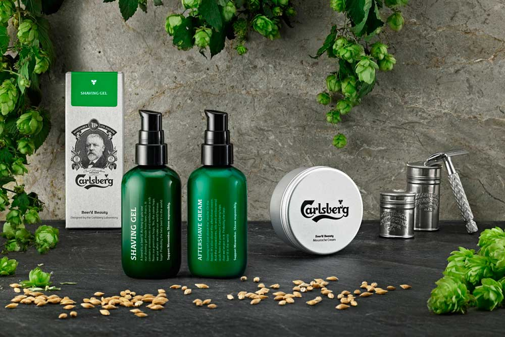 ¡Carlsberg lanza una gama de productos para barba y bigote!