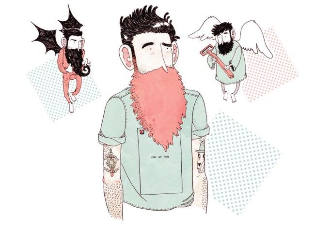 Alfonso Casas para el libro No sin mi barba