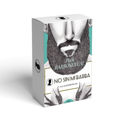 Pack BARBOSEXUAL - No sin mi barba