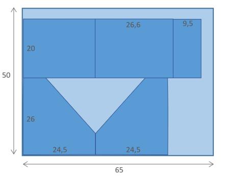 Position pièces