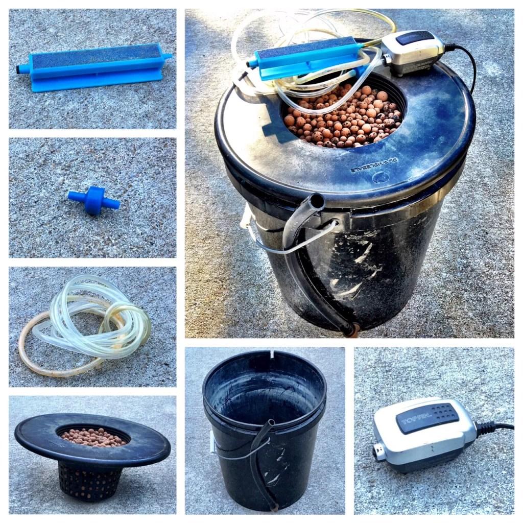 hydroponic bucket
