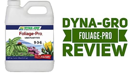 Dyna-Gro Foliage-Pro Hydroponic Nutrient Review