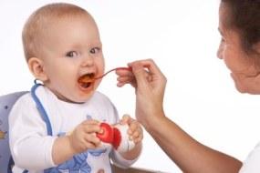 Alimentación semi-sólida del Bebé. Que puede comer