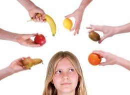 Propiedades de las frutas y verduras según sus colores
