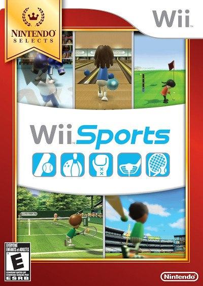 Wii-Sports de Nintendo. Un juego con muchos deportes diferentes, que te harán quemar calorías