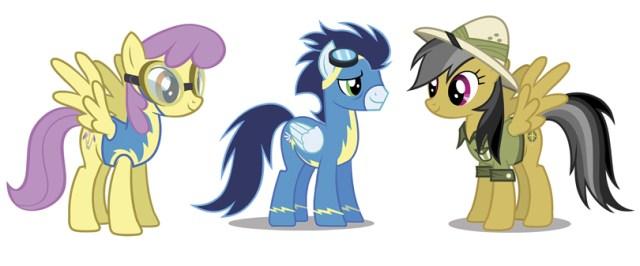 My Little Pony Aventuras en Ecuestria Nosolorol