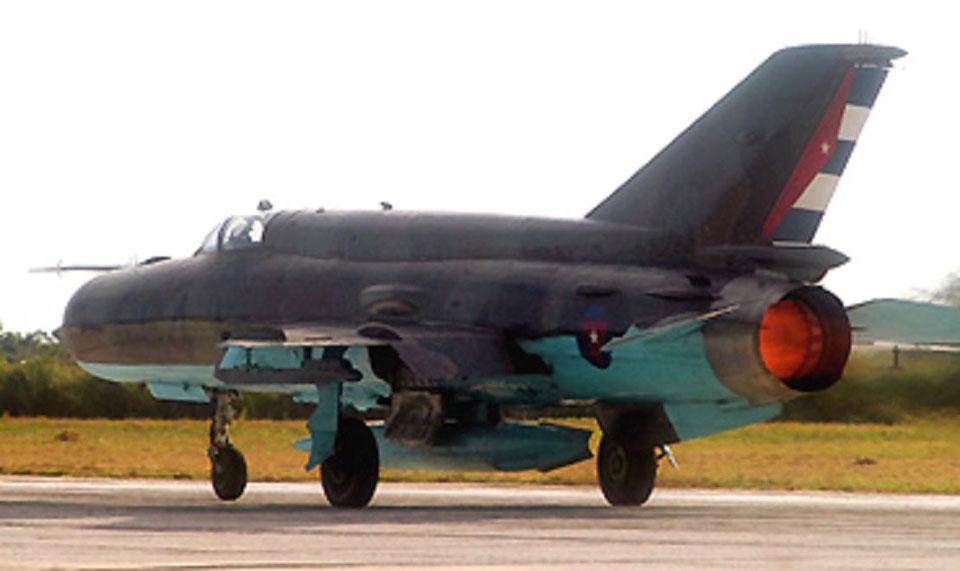 Os caças MiG-21 cubanos caminham para seus últimos voos em poucos devem ser totalmente desativados