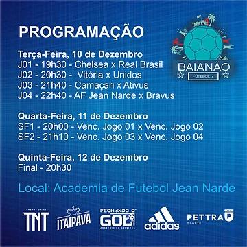 Camaçari terá dois representantes no Baianão 2019 de Futebol 7 2