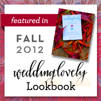 WeddingLovely Lookbook, Fall 2012