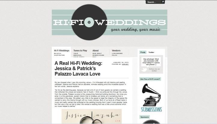 Hi-Fi Weddings