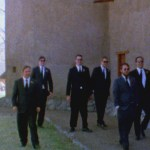 super 8 film wedding Marfa, Texas
