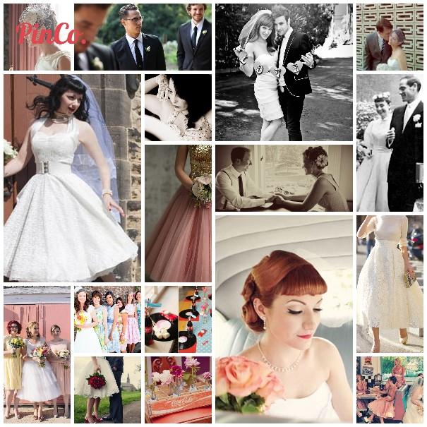 1950s wedding inspiration