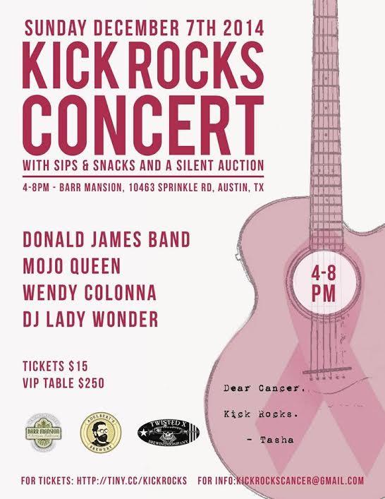 Kick Rocks Concert, Benefit at Barr Mansion