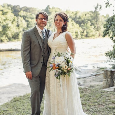 A Natural Camp Wedding at Rocky River Ranch in Wimberley, Texas