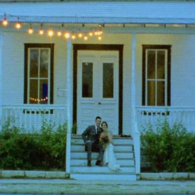 Elissa & Chris' Super 8 & HD Wedding Film on Borrowed and Bleu