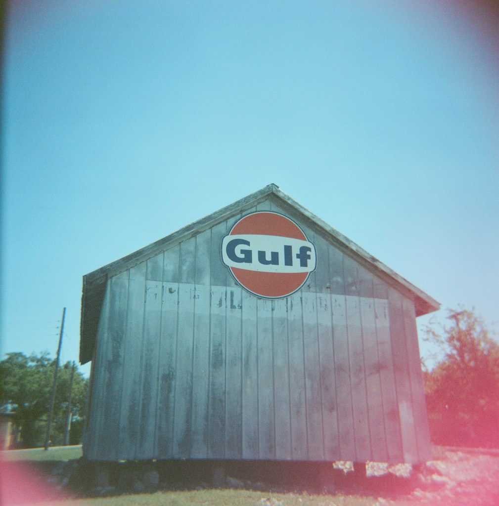 Betram Texas film photography Holga